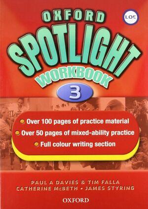 OXFORD SPOTLIGHT 3. WORKBOOK