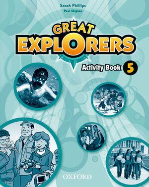 GREAT EXPLORERS 5 WB PK - PRIMARIA