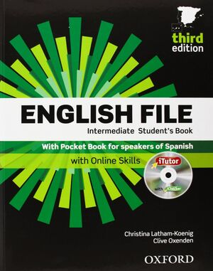 ENGLISH FILE INTER W/KEY PACK