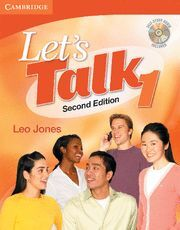 LET'S TALK STUDENT'S BOOK 1 WITH SELF-STUDY AUDIO CD 2ND EDITION