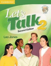 LET'S TALK LEVEL 2 STUDENT'S BOOK WITH SELF-STUDY AUDIO CD 2ND EDITION