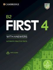 B2 FIRST 4. STUDENT'S BOOK WITH ANSWERS WITH AUDIO WITH RESOURCE BANK