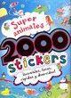 SUPERANIMALES 2000 STICKERS