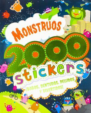 MONSTRUOS 2000 STICKERS - BOBOS, DENTUDO