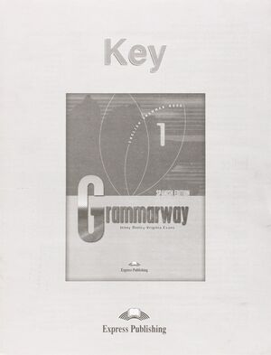 GRAMMARWAY 1 KEY SPANISH EDITION
