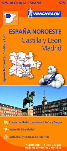 MAPA 575 CASTILLA Y LEON MADRID