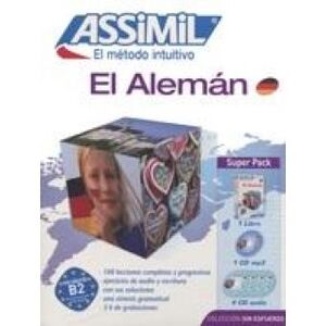 SUPERPACK ALEMAN LIBRO+CD+CD'S MP3