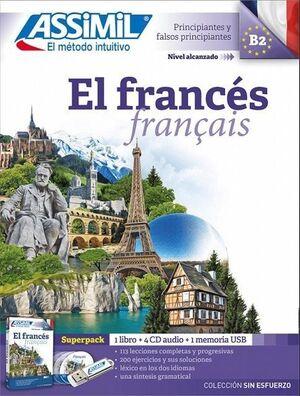 EL FRANCES ALUM+CD4+USB