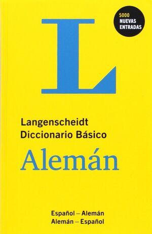 DICCIONARIO BASICO ALEMAN/ESPA