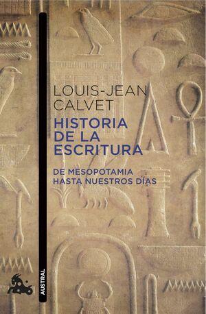 HISTORIA DE LA ESCRITURA (AUSTRAL) 649-M