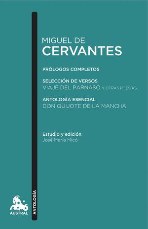 MIGUEL DE CERVANTES. ANTOLOGÍA