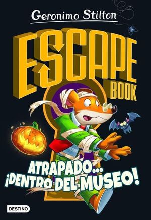 GS ESCAPE BOOK. ATRAPADO... IDENTRO DEL MUSEO!