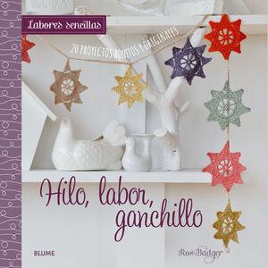 HILO, LABOR, GANCHILLO (LABORES SENCILLA