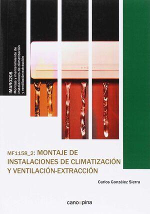 MF1158 MONTAJE DE INSTALACIONES DE CLIMATIZACIÓN Y VENTILACIÓN-EXTRACCIÓN