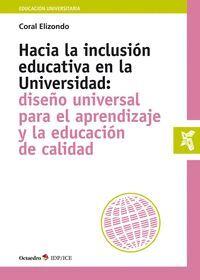 HACIA LA INCLUSI?N EDUCATIVA EN LA UNIVERSIDAD