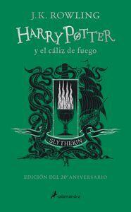 HARRY POTTER Y EL CALIZ DE FUEGO (EDICION SLYTHERIN DEL 20º ANIVE