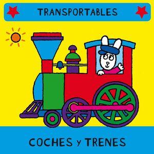 COCHES Y TRENES (LIBRO BLANDITO)