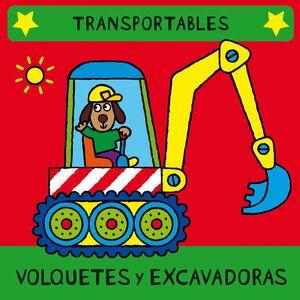 VOLQUETES Y EXCAVADORES (LIBRO BLANDITO)