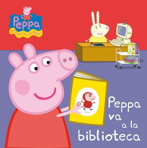 PEPPA VA A LA BIBLIOTECA (PEPPA, DIVIERT