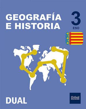 INICIA GEOGRAFÍA E HISTORIA 3.º ESO. LIBRO DEL ALUMNO. VALENCIA