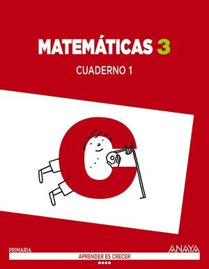 MATEMÁTICAS 3. CUADERNO 1.