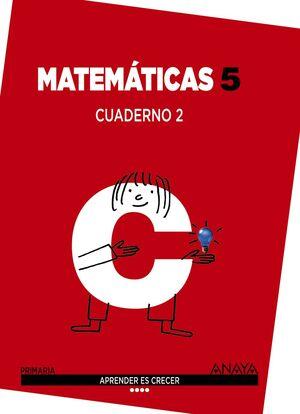 MATEMÁTICAS 5. CUADERNO 2.