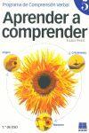 APRENDER A COMPRENDER 5. PROGRAMA DE COMPRENSIÓN VERBAL