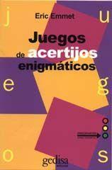 JUEGOS DE ACERTIJOS ENIGMÁTICOS