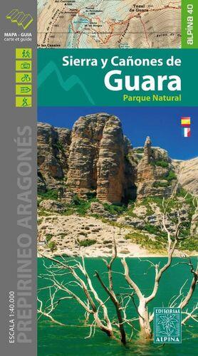 SIERRA Y CAÑONES DE GUARA   MAPA+GUIA 01