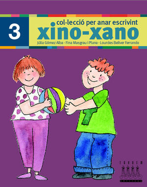 XINO-XANO 3 ESCRIPTURA