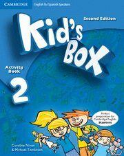 KIDS BOX 2 EJERCICIOS+CD-ROM+PORTFOLIO