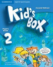 KIDS BOX 2 ALUMNO+MY HOME BOOKLET