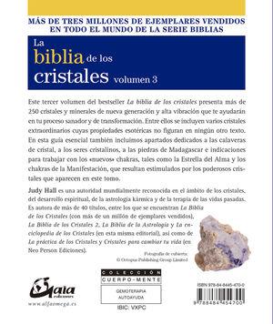 BIBLIA DE LOS CRISTALES VOL. 3
