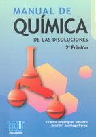 MANUAL DE QUÍMICA DE LAS DISOLUCIONES