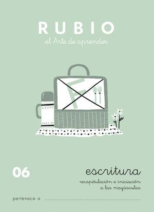 CUADERNOS ESCRITURA 06. RUBIO