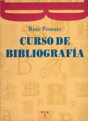 CURSO DE BIBLIOGRAFÍA