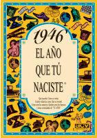 1946 EL AÑO QUE TU NACISTE