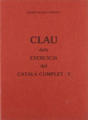 CLAU DELS EXERCICIS DEL CATALÀ COMPLET 3