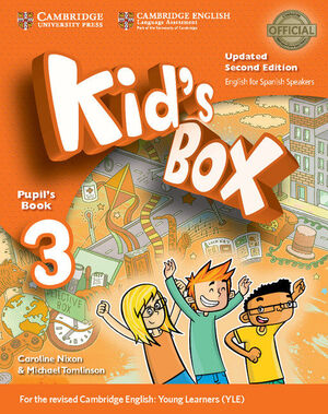 KID'S BOX LEVEL 3 PUPIL'S BOOK UPDATED ENGLISH FOR SPANISH SPEAKERS 2ND EDITION