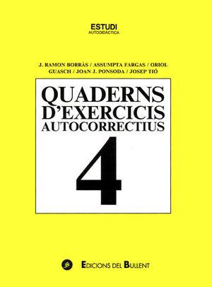 QUADERNS D'EXERCICIS AUTOCORRECTIUS 4