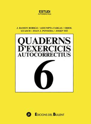 QUADERN D'EXERCICIS AUTOCORRECTIUS 6
