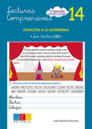 LECTURAS COMPRENSIVAS Nº 14 2ª ED
