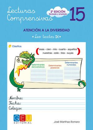 LECTURAS COMPRENSIVAS 15