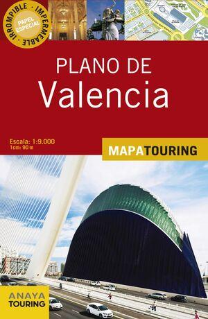 PLANO CALLEJERO DE VALENCIA