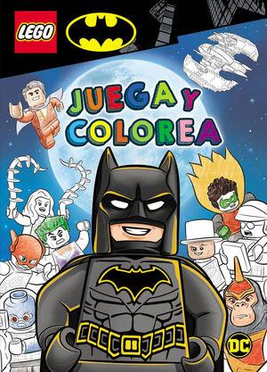 BATMAN LEGO - JUEGA Y COLOREA